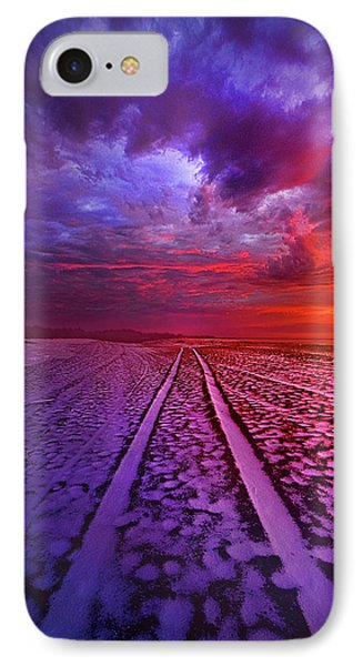 To All Ends Of The World IPhone Case by Phil Koch
