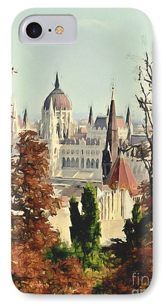 To Budapest With Love IPhone Case