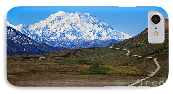 IPhone Case featuring the photograph To Mount Mckinley by Robert Pilkington