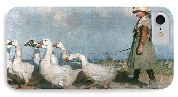 To Pastures New IPhone Case by James Guthrie