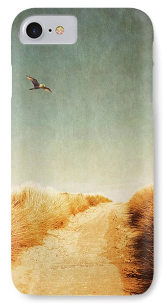 To The Beach Phone Case by Wim Lanclus