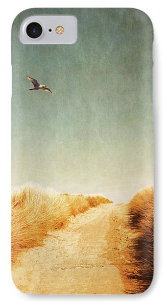 To The Beach IPhone Case by Wim Lanclus