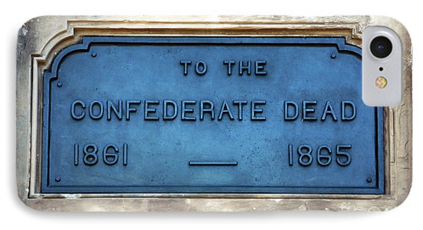 To The Confederate Dead Phone Case by John Rizzuto