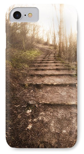 To The Light IPhone Case by Wim Lanclus