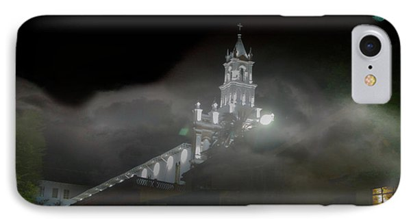 IPhone Case featuring the photograph Todos Santos In The Fog by Al Bourassa