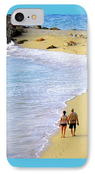 Together Alone Phone Case by Karen Wiles