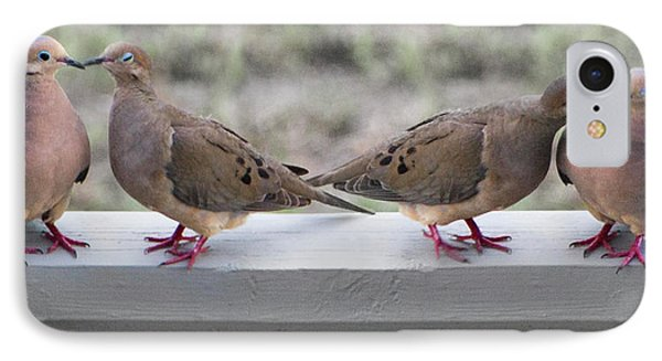 Together For Life IPhone 7 Case by Betsy Knapp