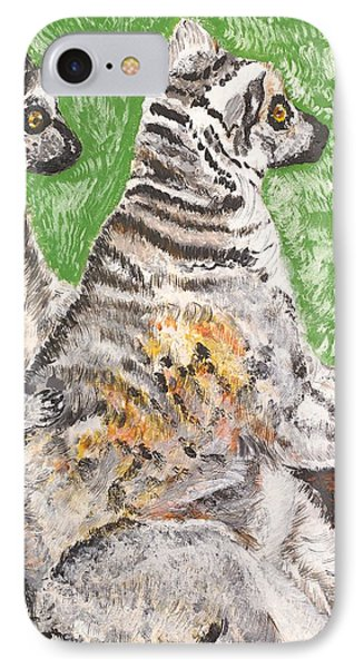 Together IPhone Case by Valerie Ornstein