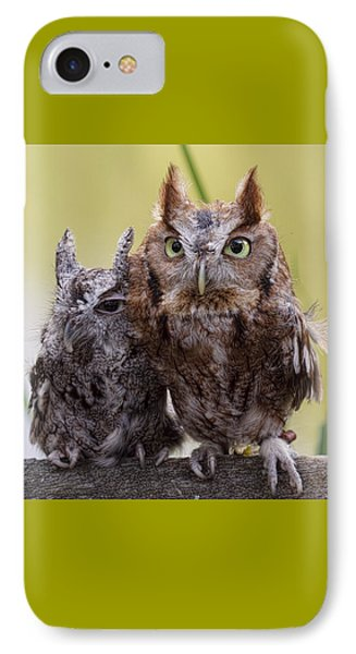 IPhone Case featuring the photograph Togetherness by Cheri McEachin