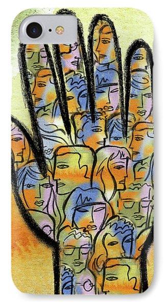 Togetherness IPhone Case by Leon Zernitsky