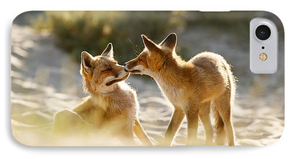 Togetherness - Mother And Kit Moment IPhone Case