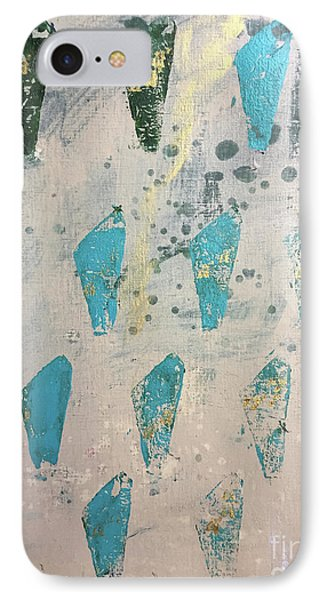 IPhone Case featuring the painting Tokens by Robin Maria Pedrero