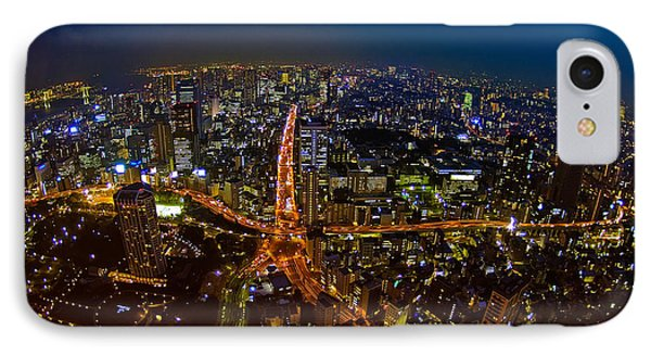 IPhone Case featuring the photograph Tokyo At Night by Dan Wells