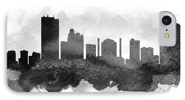 Toledo Cityscape 11 IPhone Case by Aged Pixel