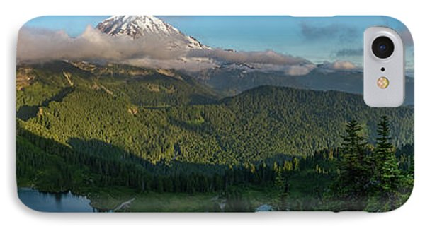 Tolmie Peak Viewpoint IPhone Case by Ken Stanback