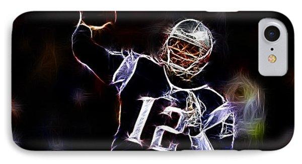 Tom Brady - New England Patriots Phone Case by Paul Ward