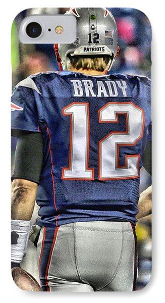 Tom Brady Art 2 IPhone Case
