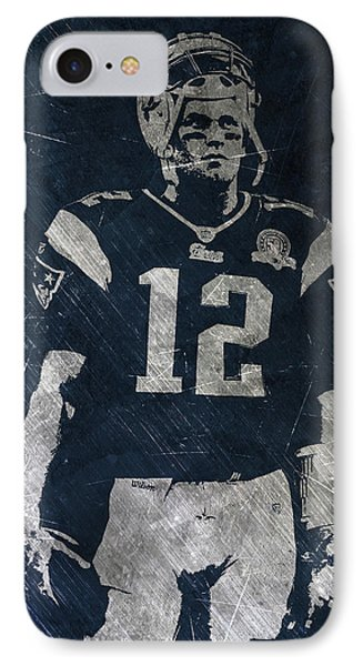Tom Brady Patriots 4 IPhone Case