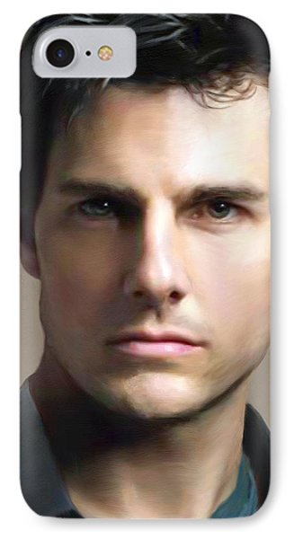Tom Cruise Phone Case by Dominique Amendola