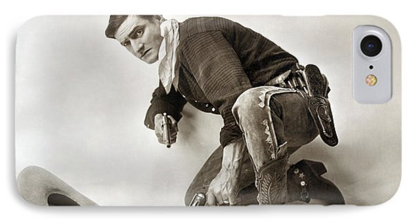 Tom Mix (1880-1944) Phone Case by Granger