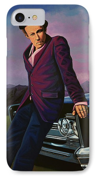 Tom Waits IPhone 7 Case by Paul Meijering