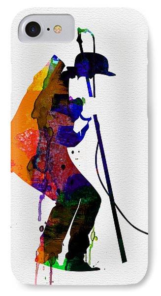 Tom Watercolor IPhone Case by Naxart Studio