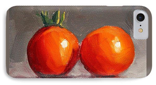 Tomato Reflection IPhone Case by Nancy Merkle