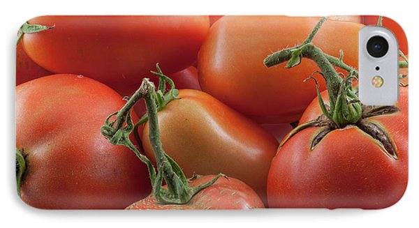 IPhone Case featuring the photograph Tomato Stems by James BO Insogna