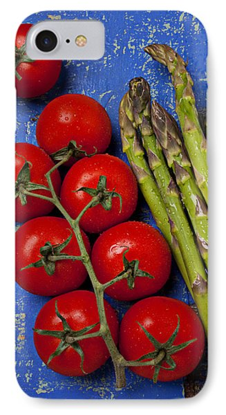 Tomatoes And Asparagus  IPhone 7 Case