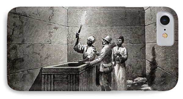 Tomb Chamber Of Menkaura IPhone Case