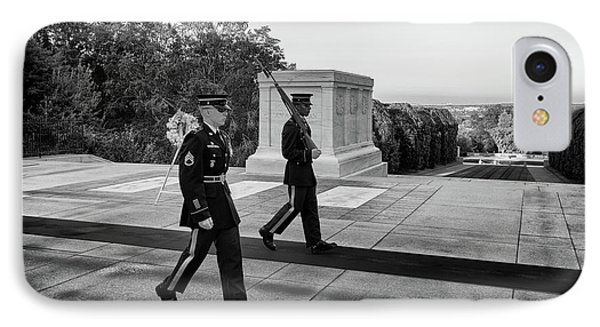Tomb Of The Unknown Guards IPhone Case by Paul Seymour
