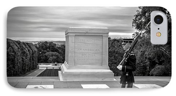 IPhone Case featuring the photograph Tomb Of The Unknown Solider by David Morefield