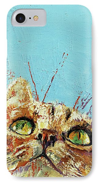 Tomcat IPhone Case by Michael Creese