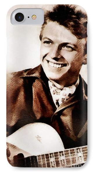 Tommy Steele, British Actor And Singer IPhone Case