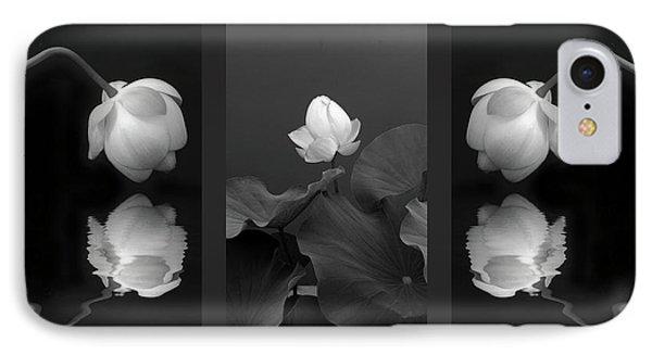 Tonal Study Triptych IPhone Case by Jessica Jenney