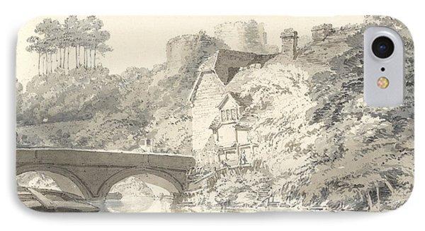 Tonbridge Castle IPhone Case by Joseph Mallord William Turner