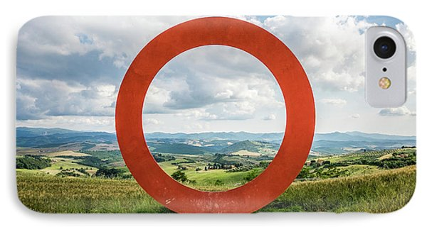 Anello - Tuscany, Italy - Landscape Photography IPhone Case by Giuseppe Milo