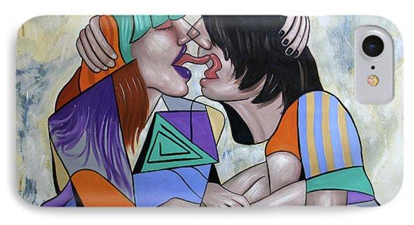 Tongue Aerobics IPhone Case
