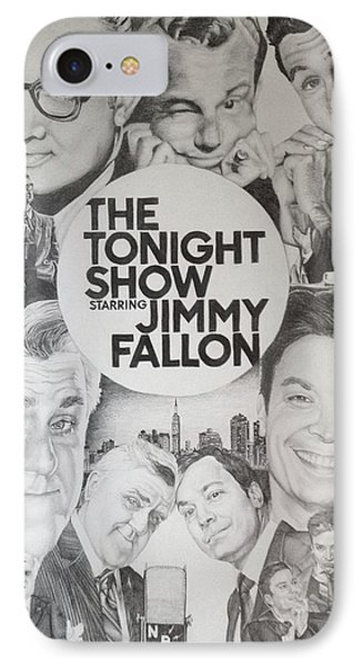 Johnny Carson iPhone 7 Case - Tonight Show by Danielle Billings