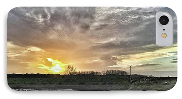 Tonight's Sunset From Thornham IPhone Case