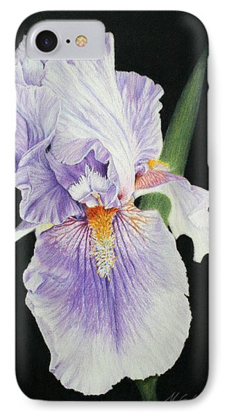 Tonto Basin Iris IPhone Case by Marna Edwards Flavell