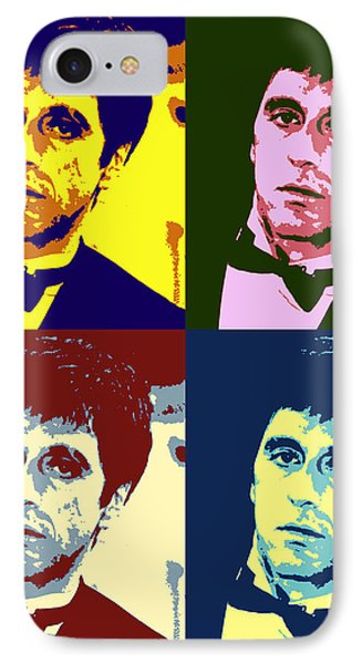 Tony Montana Pop Art IPhone Case by Pd