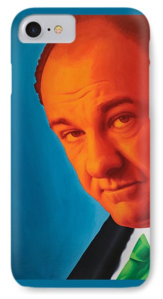Tony Soprano IPhone Case by Ellen Patton