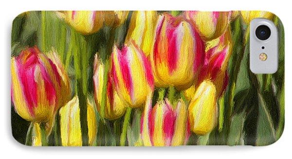 Too Many Tulips Phone Case by Jeffrey Kolker