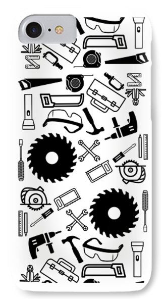 Tool Belt 1 Phone Case IPhone Case by Edward Fielding