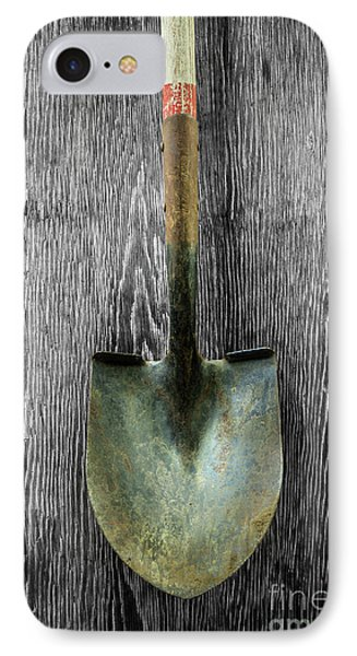 Tools On Wood 15 On Bw IPhone Case by YoPedro