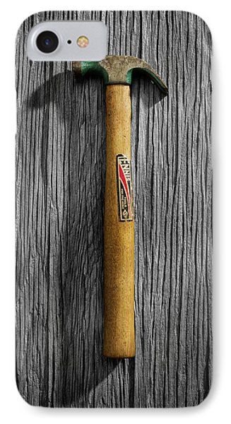 Tools On Wood 17 On Bw IPhone Case by YoPedro