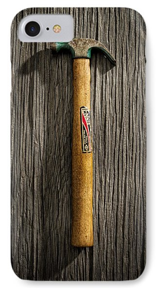Tools On Wood 17 IPhone Case by Yo Pedro