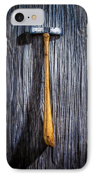 Tools On Wood 19 IPhone Case by Yo Pedro