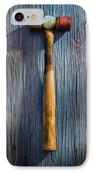 Tools On Wood 20 IPhone Case by YoPedro
